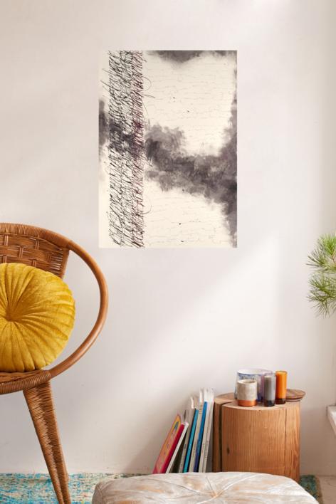 Diario de viaje por la Nebulosa de Orión   Pintura de Jorge Regueira   Compra arte en Flecha.es
