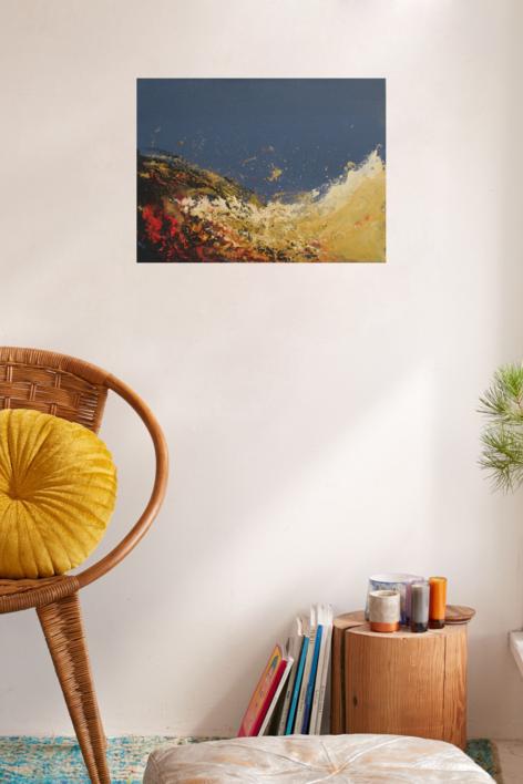 Fire and spirit   Pintura de Arkal   Compra arte en Flecha.es