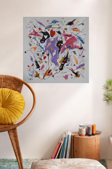 Everybody knows   Pintura de Valeriano Cortázar   Compra arte en Flecha.es