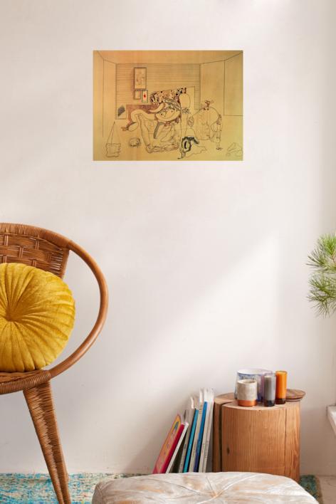 Habitación   Obra gráfica de Jorge Castillo   Compra arte en Flecha.es