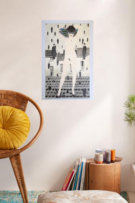 Serie Desnudos III | Obra gráfica de Fernando Bellver | Compra arte en Flecha.es