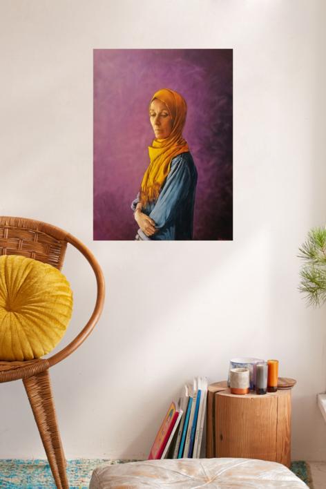 Intus, exire. من الفكر الداخلي إلى الخارج من الوجود | Pintura de Fran Jiménez  (Âli Qasim) | Compra arte en Flecha.es