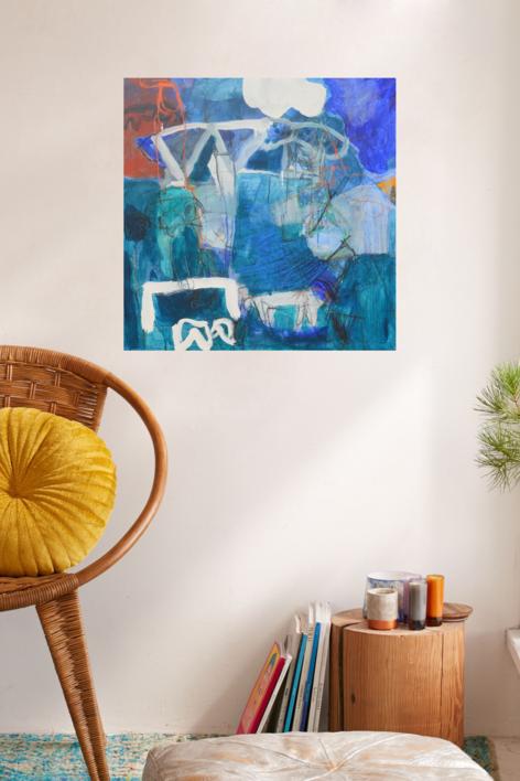 Tarde de Julio (El señor y la señora Andrews) | Pintura de Celia Muñoz | Compra arte en Flecha.es