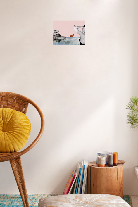 Ready To Attack | Collage de Jaume Serra Cantallops | Compra arte en Flecha.es