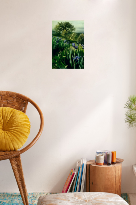 Naturaleza-lirios | Pintura de Carmen Nieto | Compra arte en Flecha.es