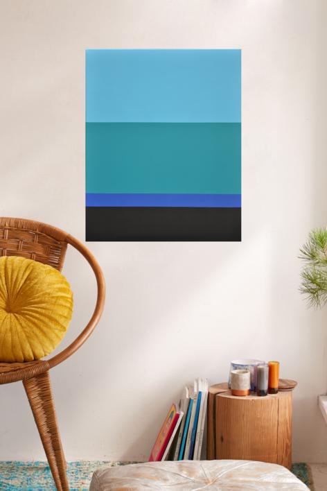 The sea | Pintura de Luis Medina | Compra arte en Flecha.es