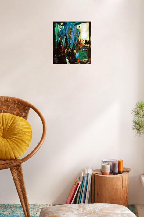 La puerta del infinito | Pintura de Lika | Compra arte en Flecha.es