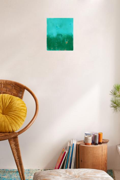 Sky and field II   Pintura de Luis Medina   Compra arte en Flecha.es