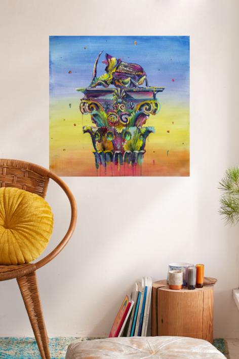 Podium | Obra gráfica de Misterpiro | Compra arte en Flecha.es