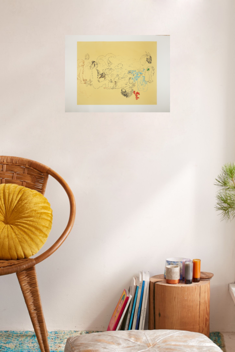Escena Campestre | Obra gráfica de Jorge Castillo | Compra arte en Flecha.es