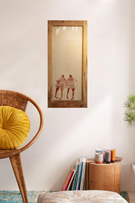 LOS GEMELOS | Dibujo de SINO | Compra arte en Flecha.es