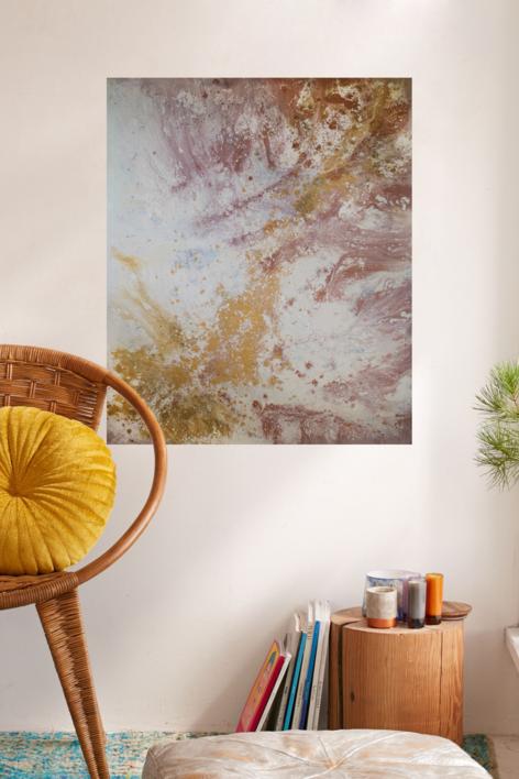 [tierras] XII | Pintura de Elisa de la Torre | Compra arte en Flecha.es