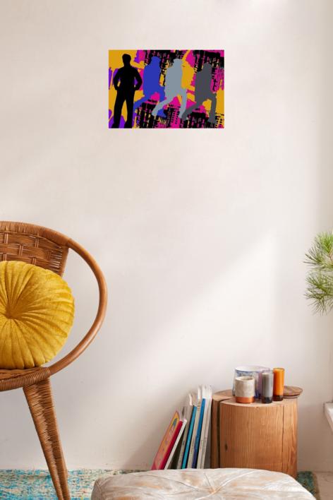 Sombras | Obra gráfica de androck | Compra arte en Flecha.es