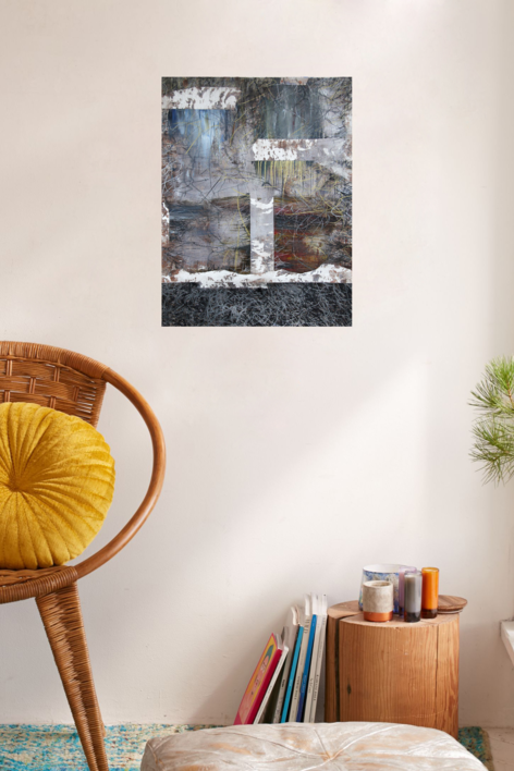 Our times V   Pintura de Claudio Palazzo   Compra arte en Flecha.es