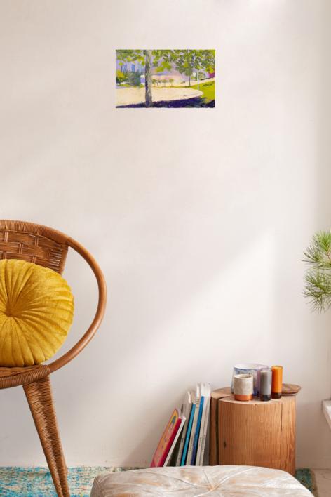 4 Torres | Pintura de Ignacio Mateos | Compra arte en Flecha.es