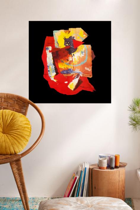 Implosión | Pintura de María Sánchez | Compra arte en Flecha.es