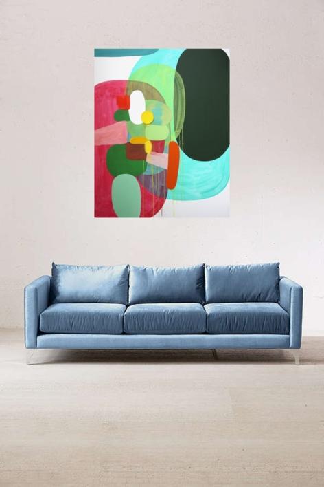 Life away from the garden | Pintura de Sergi Clavé | Compra arte en Flecha.es