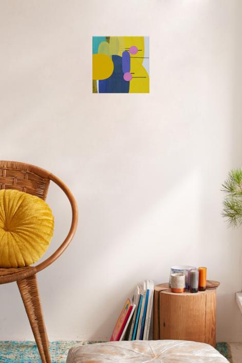 Tell her no | Pintura de Sergi Clavé | Compra arte en Flecha.es