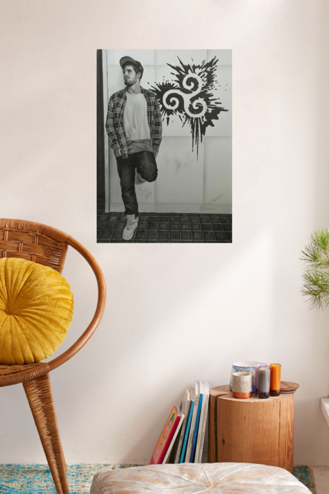 Equilibrio | Dibujo de Jose Díaz Ruano | Compra arte en Flecha.es