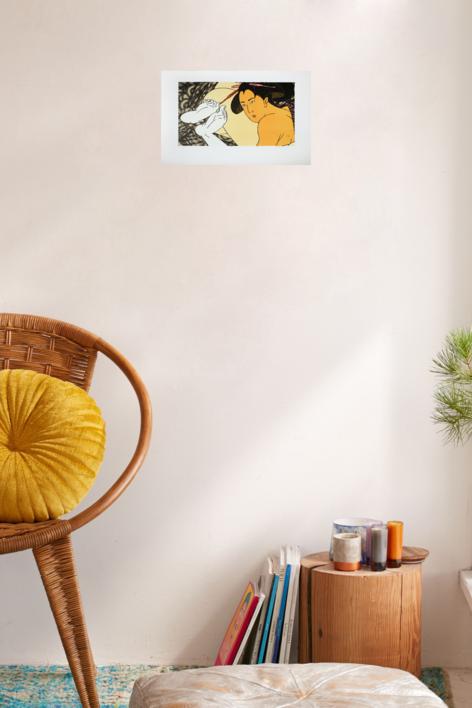 Geishas | Obra gráfica de Fernando Bellver | Compra arte en Flecha.es