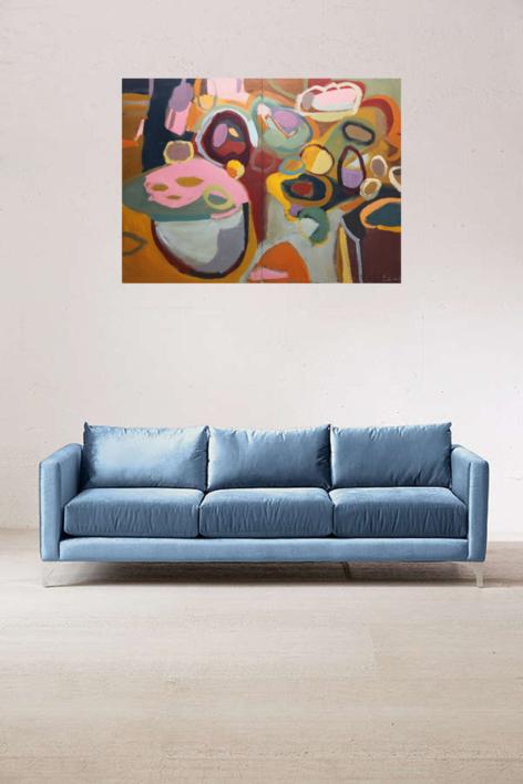 MERIENDA DE OTOÑO | Pintura de SINO | Compra arte en Flecha.es
