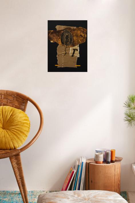 Enigmas de la femineidad 3 | Collage de Txabi Sagarzazu | Compra arte en Flecha.es