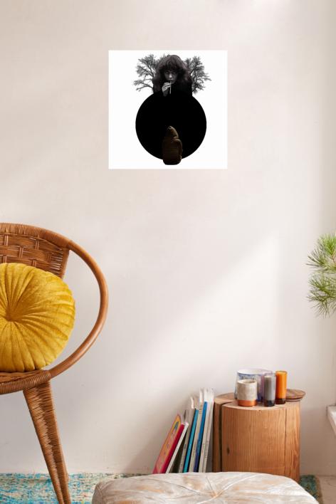 Agujero negro nº7 | Collage de Gabriel Aranguren | Compra arte en Flecha.es
