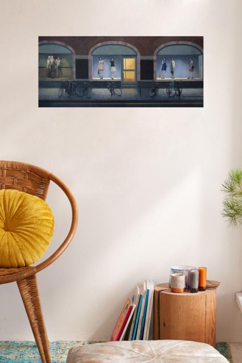Vacío itinerante | Pintura de Orrite | Compra arte en Flecha.es