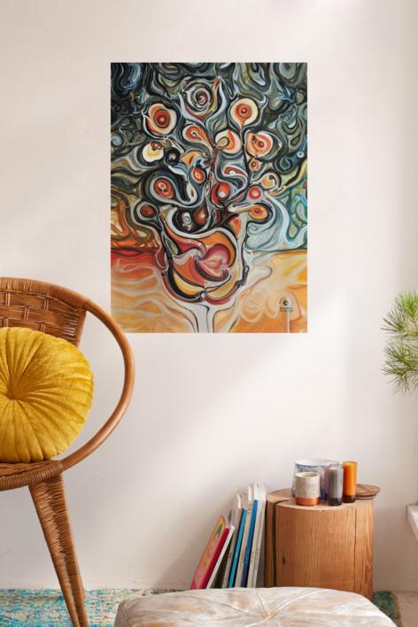 Naturaleza viva - Fibonacci | Pintura de RICHARD MARTIN | Compra arte en Flecha.es