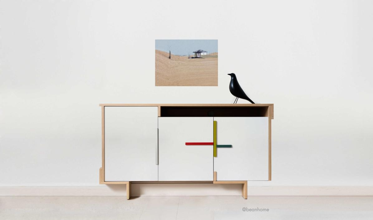 Sedentarios L   Collage de Eduardo Query   Compra arte en Flecha.es