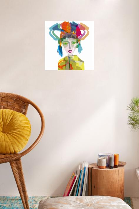 Encuentro en Lima | Digital de Mariana sanz POPNTOPMAD | Compra arte en Flecha.es