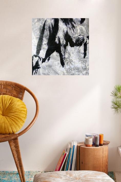 Bruna III   Pintura de Iago Eireos   Compra arte en Flecha.es