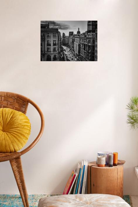 Gran Vía I | Fotografía de Pepe González-Arenas | Compra arte en Flecha.es
