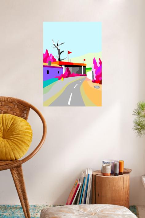 El pabellón | Digital de ALEJOS | Compra arte en Flecha.es