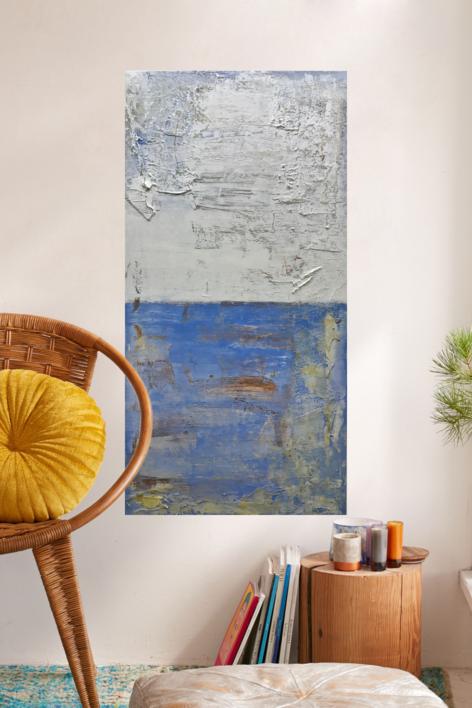Cielos y mares IV | Pintura de Agnès Rodon | Compra arte en Flecha.es