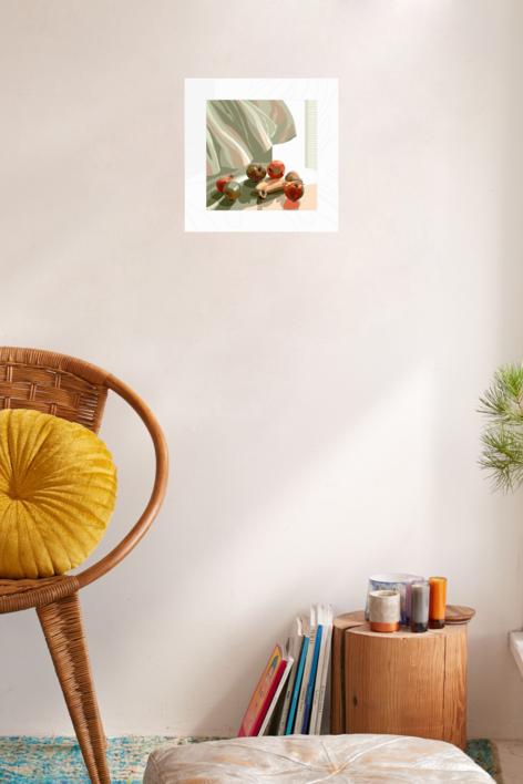 La cortina | Digital de Beatriz Ujados | Compra arte en Flecha.es