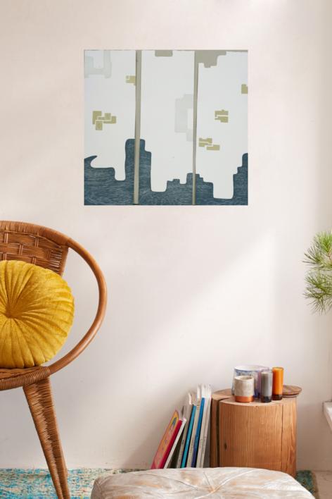 Dos por tres | Obra gráfica de Cruz Sánchez | Compra arte en Flecha.es