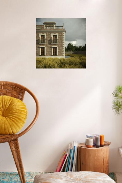 La casa | Digital de Javier Bueno | Compra arte en Flecha.es