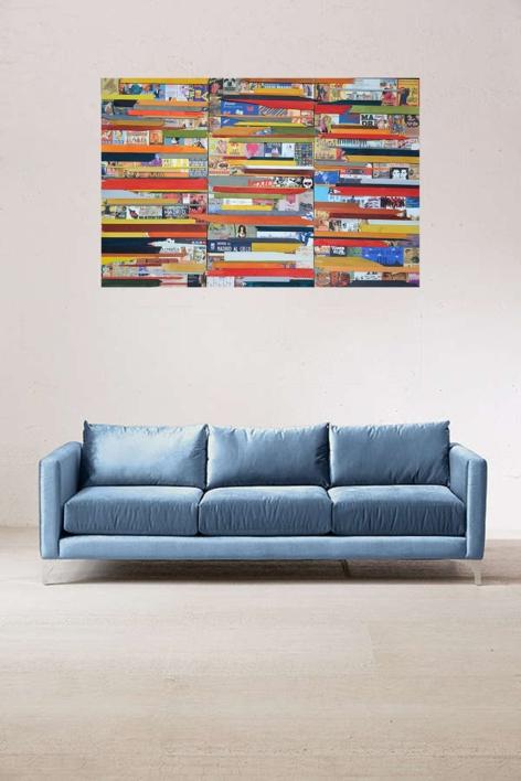 My Madrid | Collage de Marina Muñoz Viada | Compra arte en Flecha.es