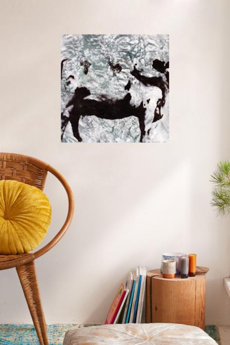 Bruna IV | Pintura de Iago Eireos | Compra arte en Flecha.es