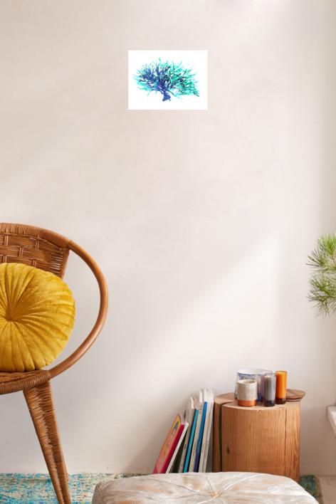 Azure 3 | Digital de Marta Caldas | Compra arte en Flecha.es