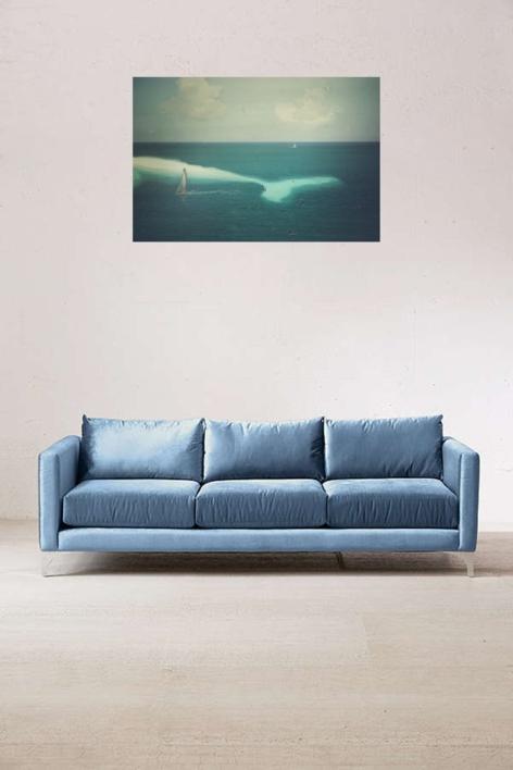 Whiteness of the whale   Collage de Brunella Fratini   Compra arte en Flecha.es