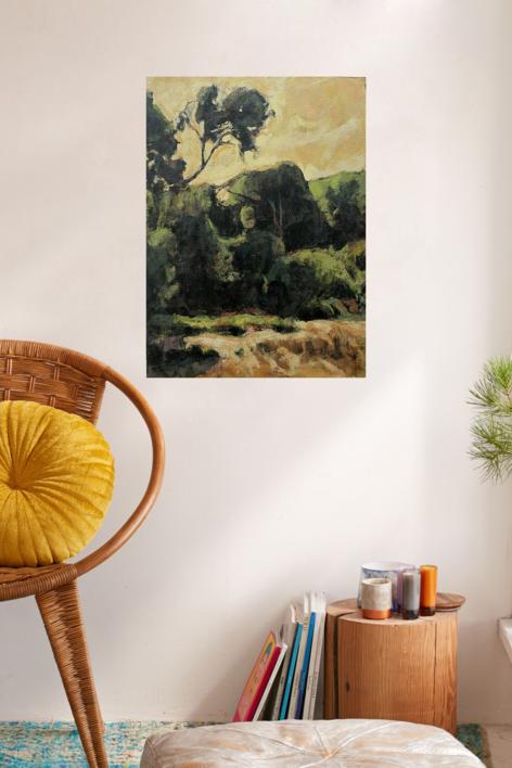 Pinos del Saler | Pintura de Jorge Pedraza | Compra arte en Flecha.es