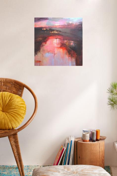 From the Distance 2 | Pintura de Magdalena Morey | Compra arte en Flecha.es