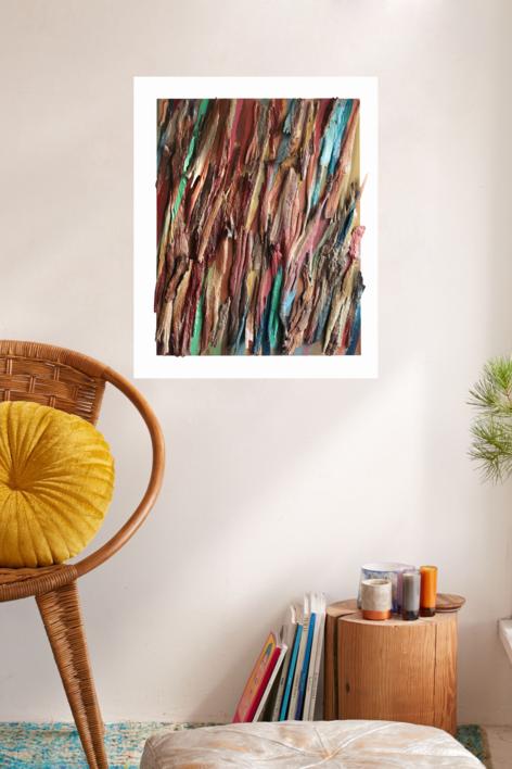 Eucalipto II |Collage de Crisdever | Compra arte en Flecha.es