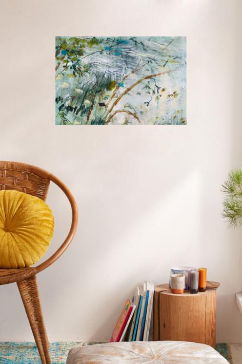 ALEGRIA PRIMAVERA I | Pintura de Ana Zaragozá | Compra arte en Flecha.es