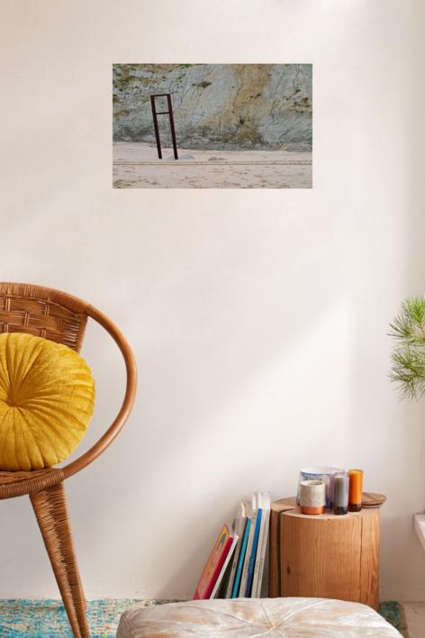 Oxido en la arena | Fotografía de Rafael Vilallonga Hohenlohe | Compra arte en Flecha.es