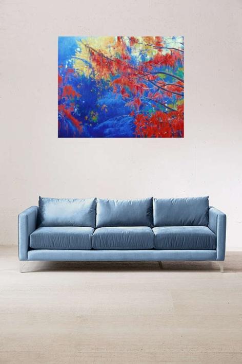 Desde el agua | Pintura de Manuel Luca de tena | Compra arte en Flecha.es