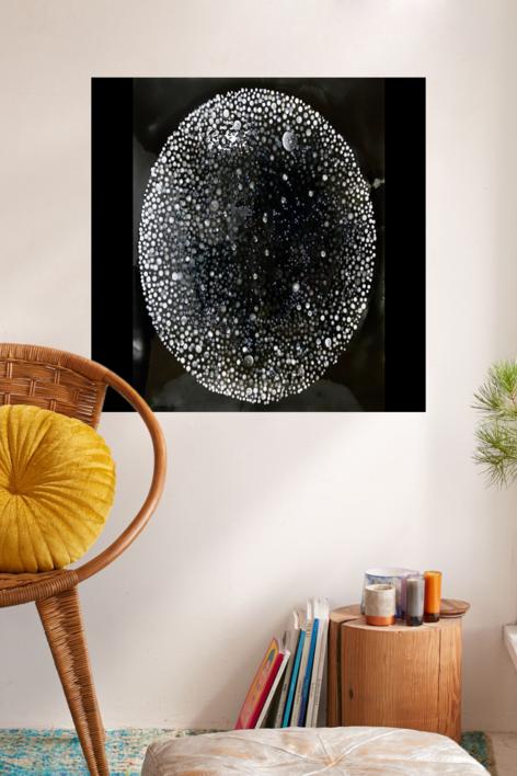Black Star | Pintura de Yanespaintings | Compra arte en Flecha.es