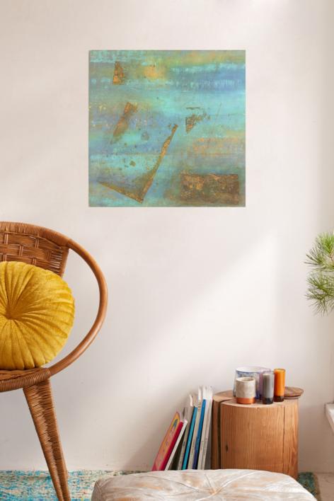 Valor del tiempo XXXIV | Pintura de Mariasanmartin67 | Compra arte en Flecha.es